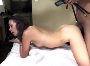 twenty-year-old college girl probing..