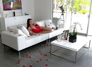 Be My Valentine! Adria Rae blow-job..