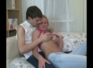 Uber-cute blond young was porked..