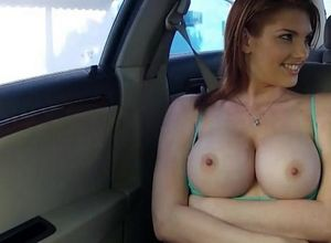 Spunky ginger-haired gets fuck hole..