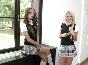 Sorority School, Naughty college girl..