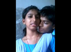 Indian college college girls smooching..